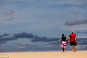 Image taken in a magical moment on an endless beach. Gewidmet Lydia und Werner. Praia de Santa Maria, Island of Sal, Cabo Verde 2012. Wish you all a beautiful rest of the week!!