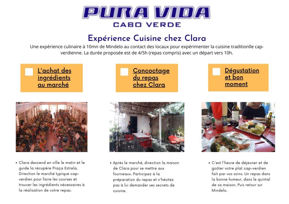 Expérience Cuisine chez Clara