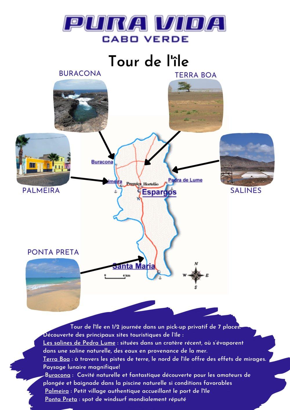Tour de l'îlesal